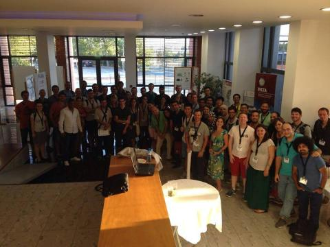 ESSIR 2015 crowd
